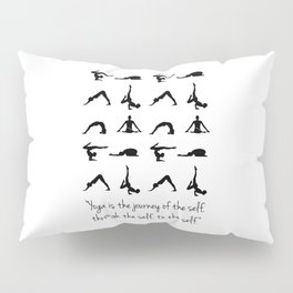 YOGA QUOTES Pillow Sham