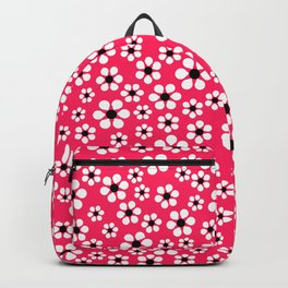 Dizzy Daisies - pink punch Backpack