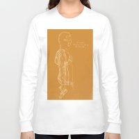 vampire weekend Long Sleeve T-shirts featuring Spring Breakers/Vampire Weekend (Orange) by Blake Holland