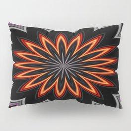 Atomic Flower Pillow Sham
