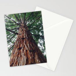Gracing the magical forest Stationery Cards
