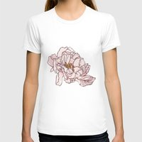 peony T-shirts featuring Peony by rusanovska