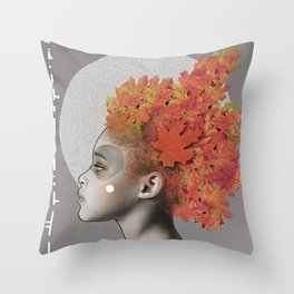 Autumn emotions Throw Pillow