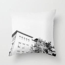 At School Throw Pillow