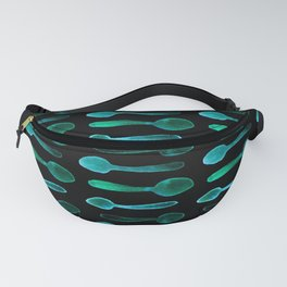 Teal X-Ray Spoons! Fanny Pack