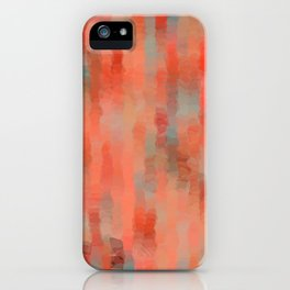 Coral Mirage iPhone Case