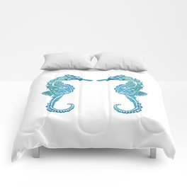 Seahorse Love Comforters