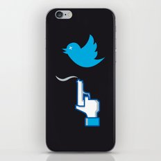 UNSOCIAL NETWORK iPhone & iPod Skin