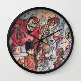 In the Mid Night Wall Clock