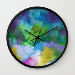 Retinal Ghost #3 Wall Clock