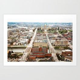 Des Moines Capital Art Print