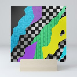 Japanese Patterns 17 Mini Art Print