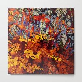 pluie d'automne/fall's rain Metal Print