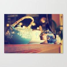 Teapots Canvas Print