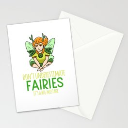 Fairy tales fairy spell magical children Stationery Cards