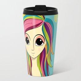 Color Girl Travel Mug
