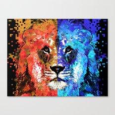 Lion Art - Majesty - Sharon Cummings Canvas Print