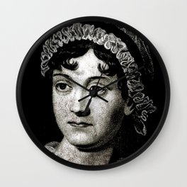 Jane Austen Wall Clock