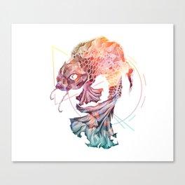 Spirit of the Koi Fish Canvas Print