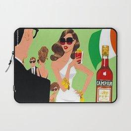1970 Campari Vintage Cordial Italian Riviera Amalfi Coast Aperitif Advertisement Poster Laptop Sleeve