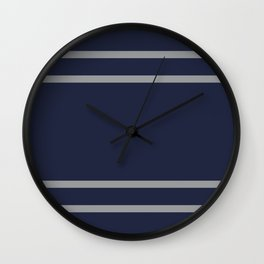 Ravenclaw Stripes Wall Clock
