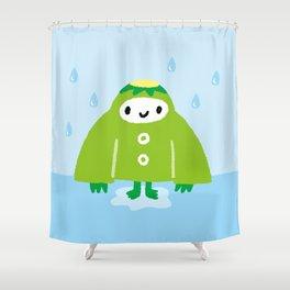 "Japanese legends ""Kappa"" Shower Curtain"