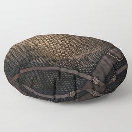 Snakeskin Floor Pillow