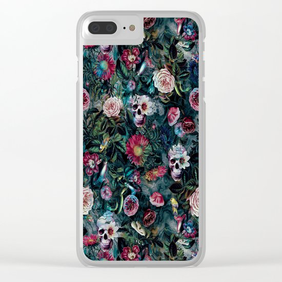 Poisonous Forest Clear iPhone Case