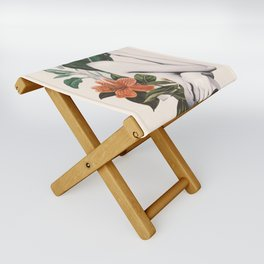 natural beauty-collage 2 Folding Stool