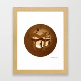 Chinese New Year (Nouvel An chinois) Framed Art Print