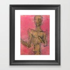 Skipper Framed Art Print