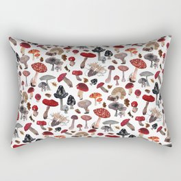 Feeling Funghi Mushroom Party Rectangular Pillow