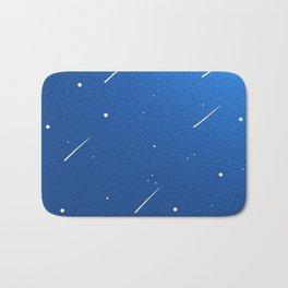 Shooting Stars in a Clear Blue Sky Bath Mat
