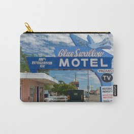 Vintage Americana the Blue Swallow Motel along Route 66 in Tucumcari Carry-All Pouch