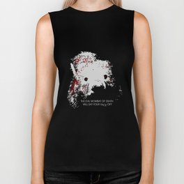 Evil Wombat of Death Biker Tank