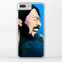 David Grohl - Rockin it Series Clear iPhone Case