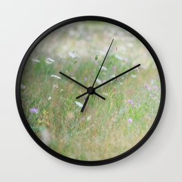 Middle of the prairie Wall Clock