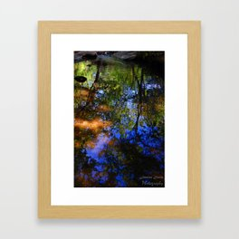 Ripples in the Water Framed Art Print