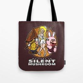 Silent Mushroom Tote Bag