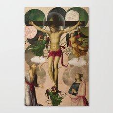 Saints Collection -- re-birth Canvas Print