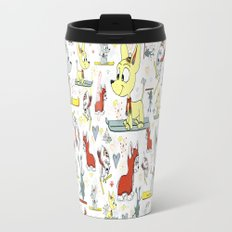Chi's on skis Travel Mug