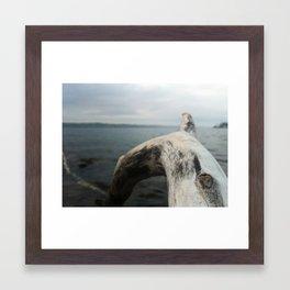 @VisitingSteven instagram Framed Art Print