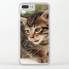 Lick It! Clear iPhone Case