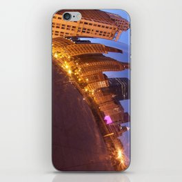 Reflections in the Cloud Gate iPhone Skin