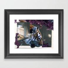 Tyger Framed Art Print