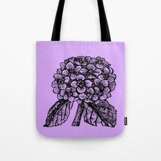 Lavender Hydrangea Tote Bag