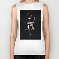 louis Biker Tanks featuring TMH Louis by Cyrilliart