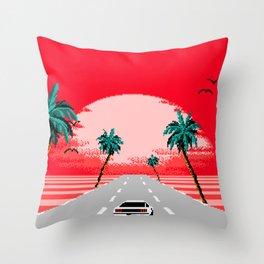 Sunset Vista Club Throw Pillow