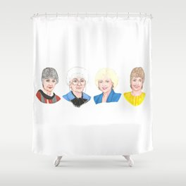 Golden Girls Shower Curtain