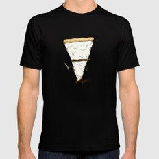 Slice! MEDIUM Mens Fitted Tee Black